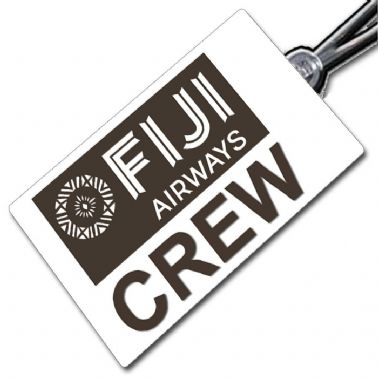 FIJI AIRWAYS crew tag